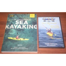 Complete Book of Sea Kayaking & North Sea Crossing DVD - Combo Set