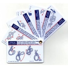 Paddling Knots Cards Waterproof