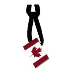 Zip Pull Canadian Flag
