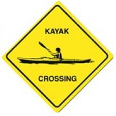 Kayak X-ing Magnet