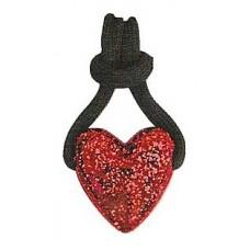 Zip Pull Heart